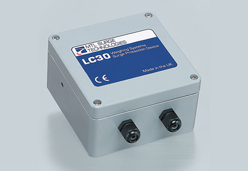 MTL LC30 load cell and weighing system surge protector