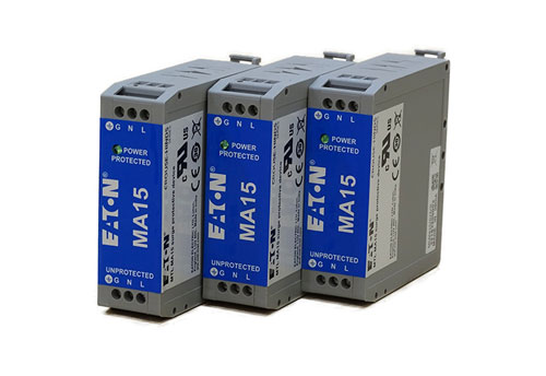 MTL MA15 AC and DC mains filter and surge protector