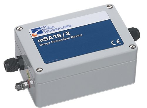 MTL mSA remote surge protection for signal and data cabling