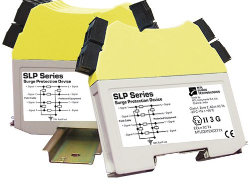 MTL SLP dual-channel hybrid surge protector for data and signal
